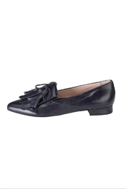 Pascucci Navy Fringe Loafer - Front cropped