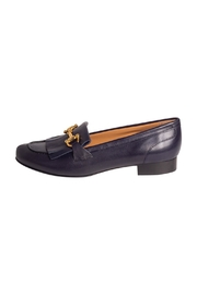 Pascucci Navy Leather Loafer - Product Mini Image