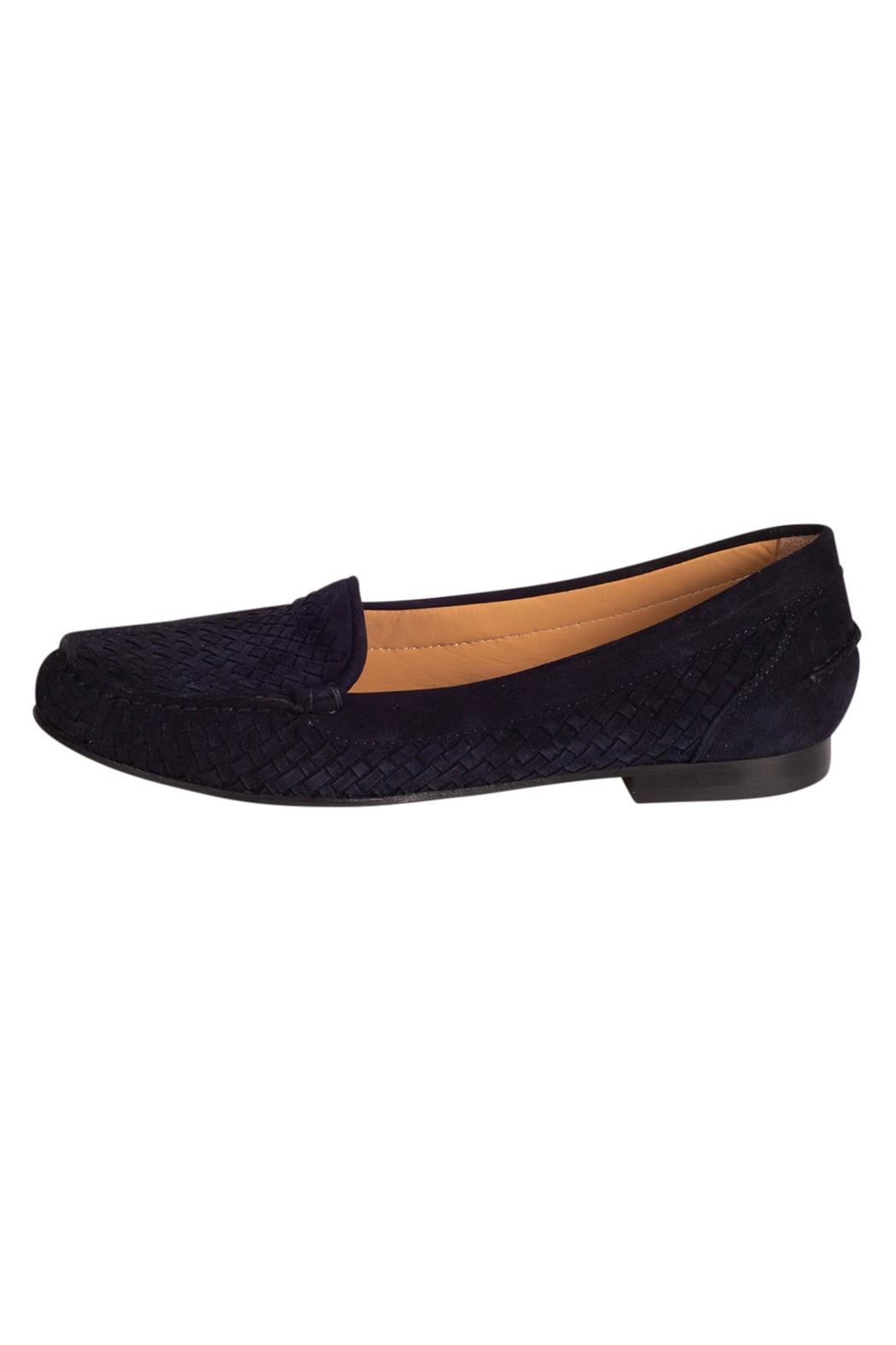 Pascucci Navy Suede Loafer - Main Image