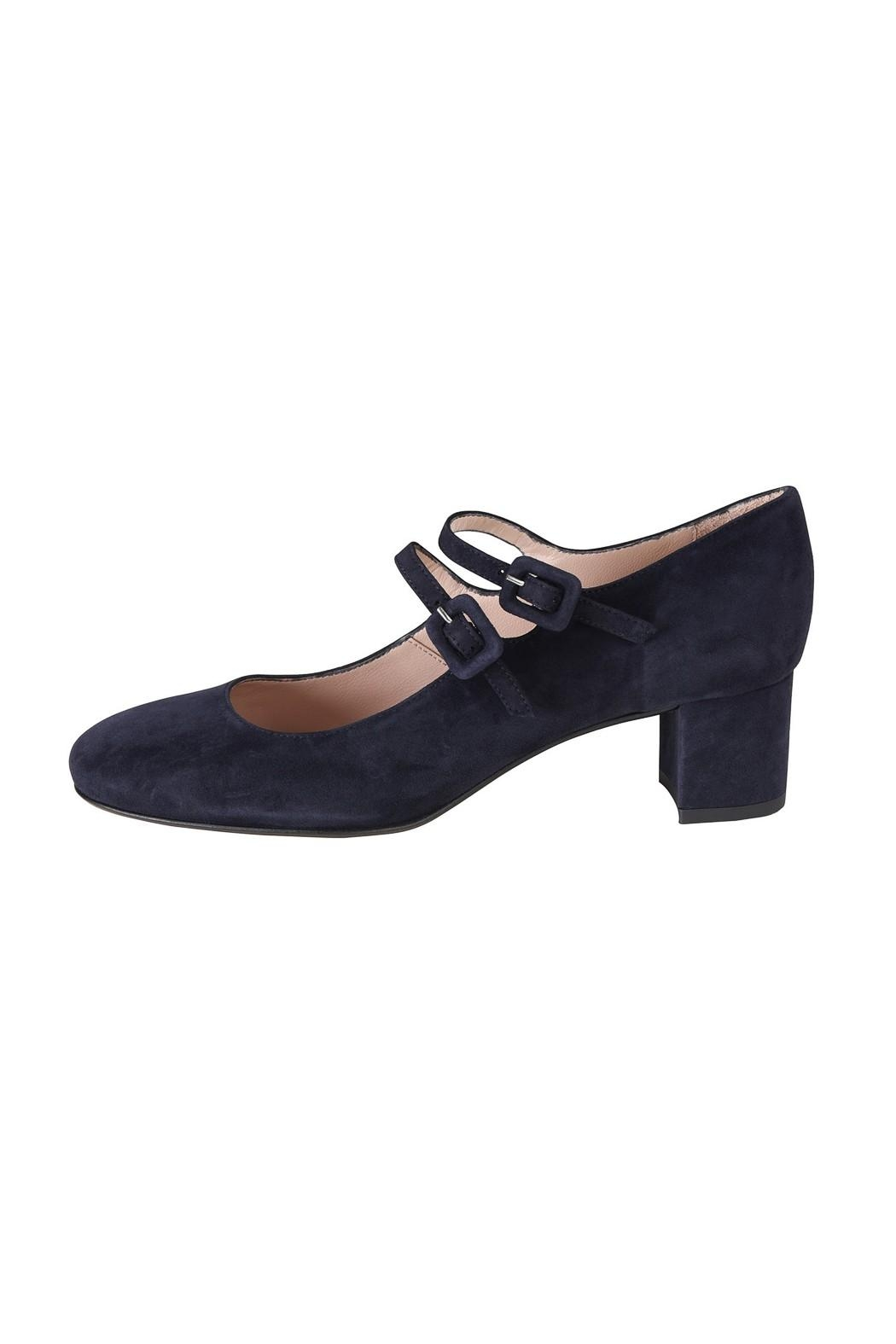 Pascucci Navy Suede Mary-Jane - Main Image