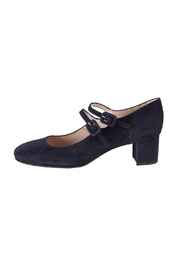 Pascucci Navy Suede Mary-Jane - Front cropped