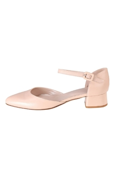 Pascucci Nude Low-Heel Mary-Jane - Product List Image