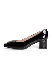 Pascucci Patent-Black Court Shoe - Product Mini Image