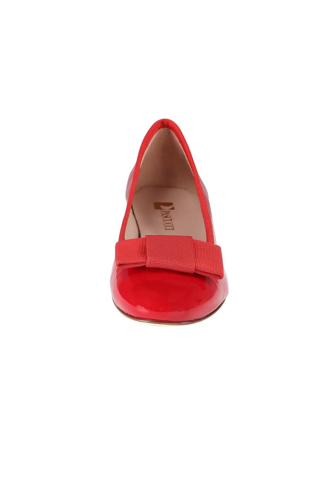 Pascucci Patent Heeled Ballet-Flats - Side Cropped Image