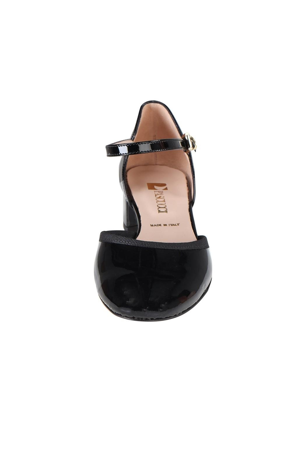 Pascucci Patent Low-Heel Mary-Jane - Side Cropped Image