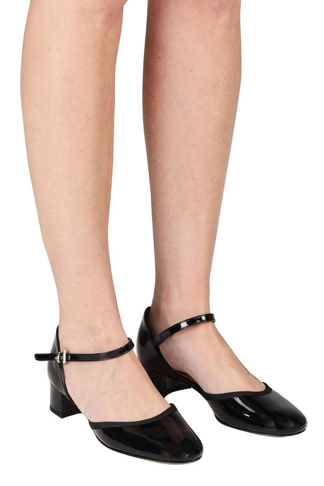 Pascucci Patent Low-Heel Mary-Jane - Back Cropped Image