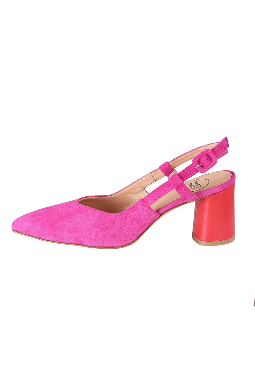 Pascucci Pink Red Slingback - Main Image