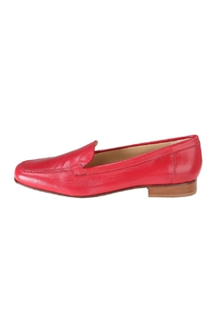 Pascucci Red Leather Loafer - Product List Image