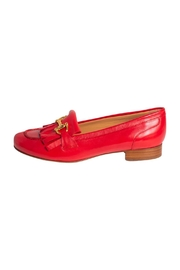 Pascucci Red Leather Loafer - Product Mini Image