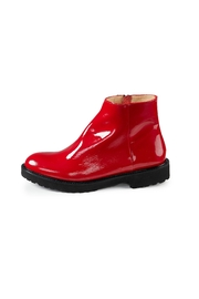Pascucci Red Patent Boots - Product Mini Image
