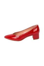 Manu Mari Red, Patent-Leather Pumps - Product Mini Image