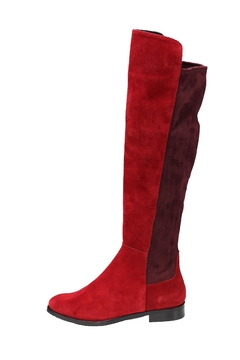 Shoptiques Product: Red Suede Boots