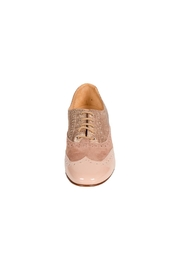 Pascucci Rosewood Leather Brogue - Side cropped