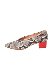 Manu Mari Snakeskin Leather Pumps - Product Mini Image