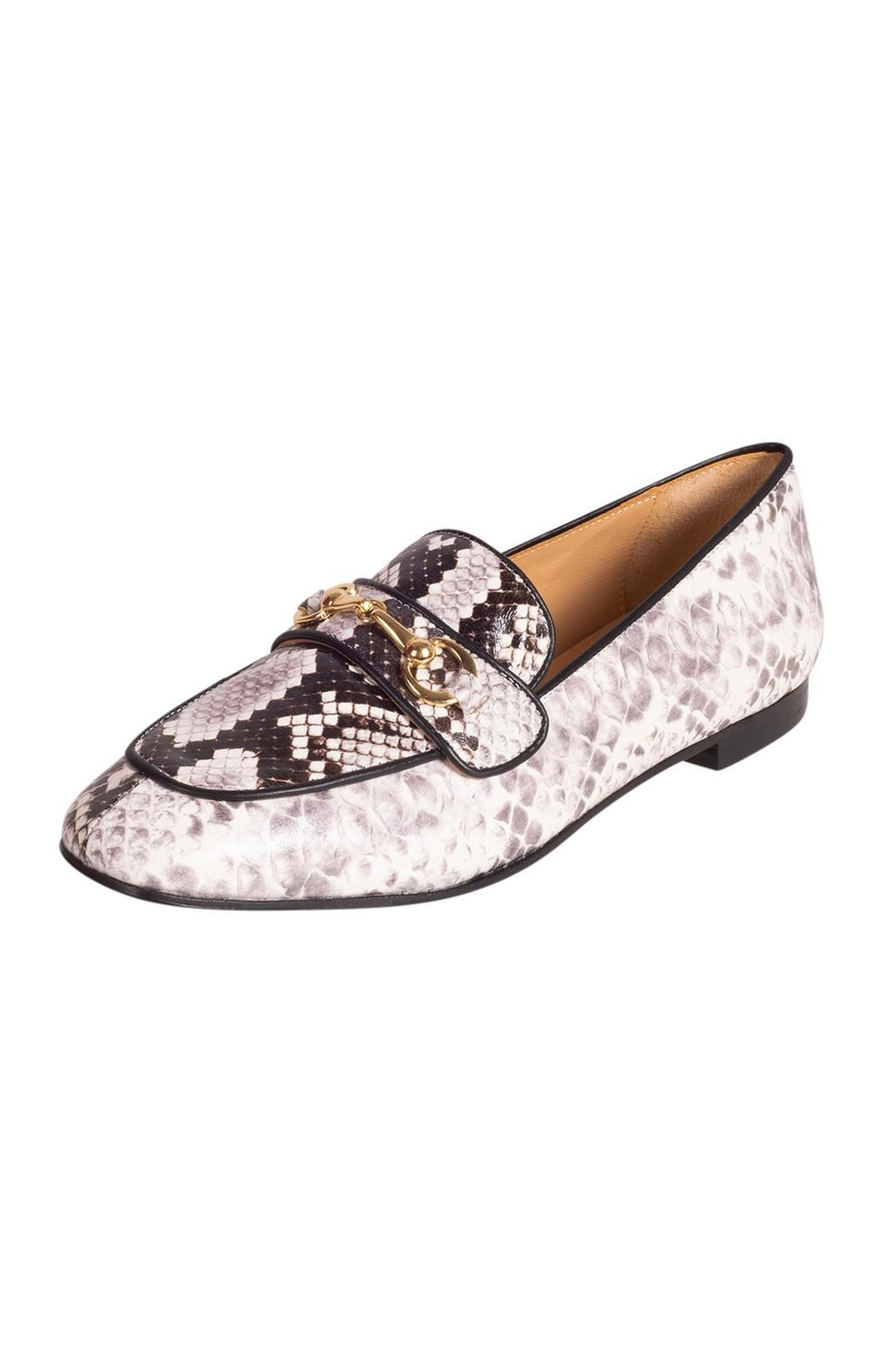 Pascucci Snakeskin Print Loafer - Front Full Image