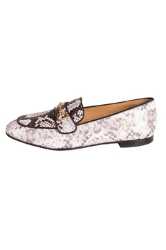 Pascucci Snakeskin Print Loafer - Product List Image