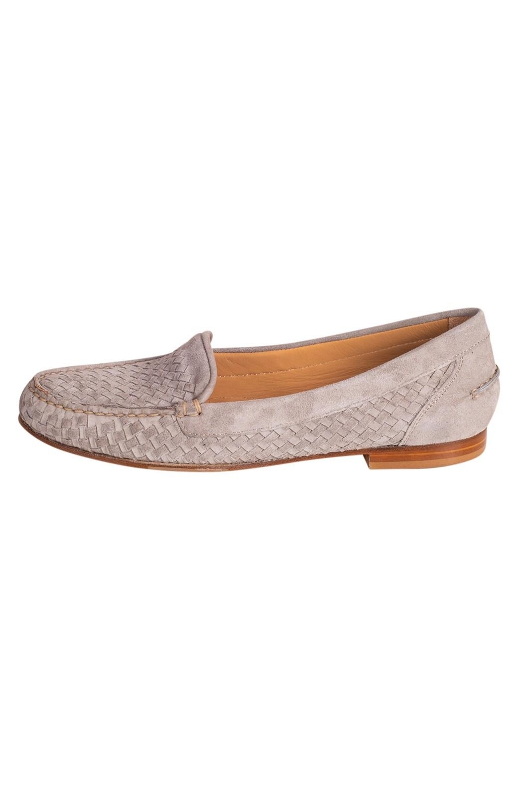 Pascucci Stone Suede Loafer - Main Image