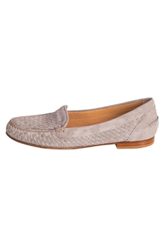Pascucci Stone Suede Loafer - Product List Image