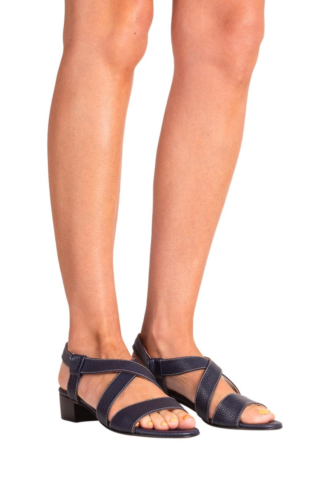 Pascucci Strappy Heeled Sandal - Back Cropped Image