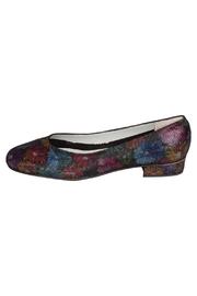 Pascucci Suede Floral Heeled-Ballet - Product Mini Image