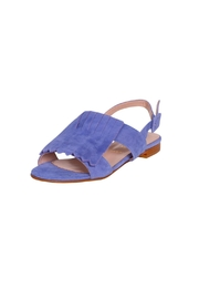 Pascucci Suede Fringe Sandal - Front full body