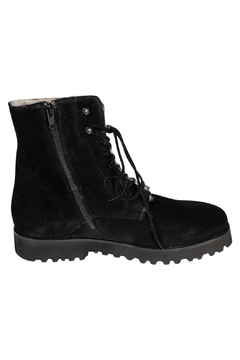 Pascucci Suede Fur-Lined Ankle-Boots - Alternate List Image