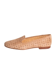 Pascucci Suede Perforated Loafers - Front cropped