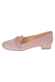 Pascucci Suede Pink Heeled-Loafer - Product Mini Image