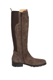 Pascucci Suede Taupe Knee-High-Boots - Other