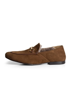Pascucci Suede Wool-Lined Loafer - Product List Image