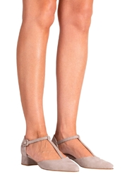 Pascucci T-Bar Low-Heeled Pump - Back cropped