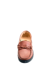 Pascucci Tan Leather Loafer - Front full body