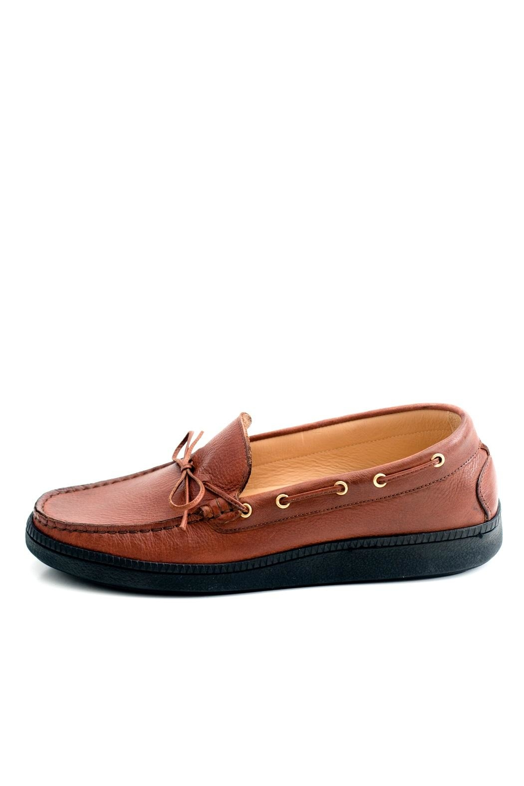 Pascucci Tan Leather Loafer - Main Image