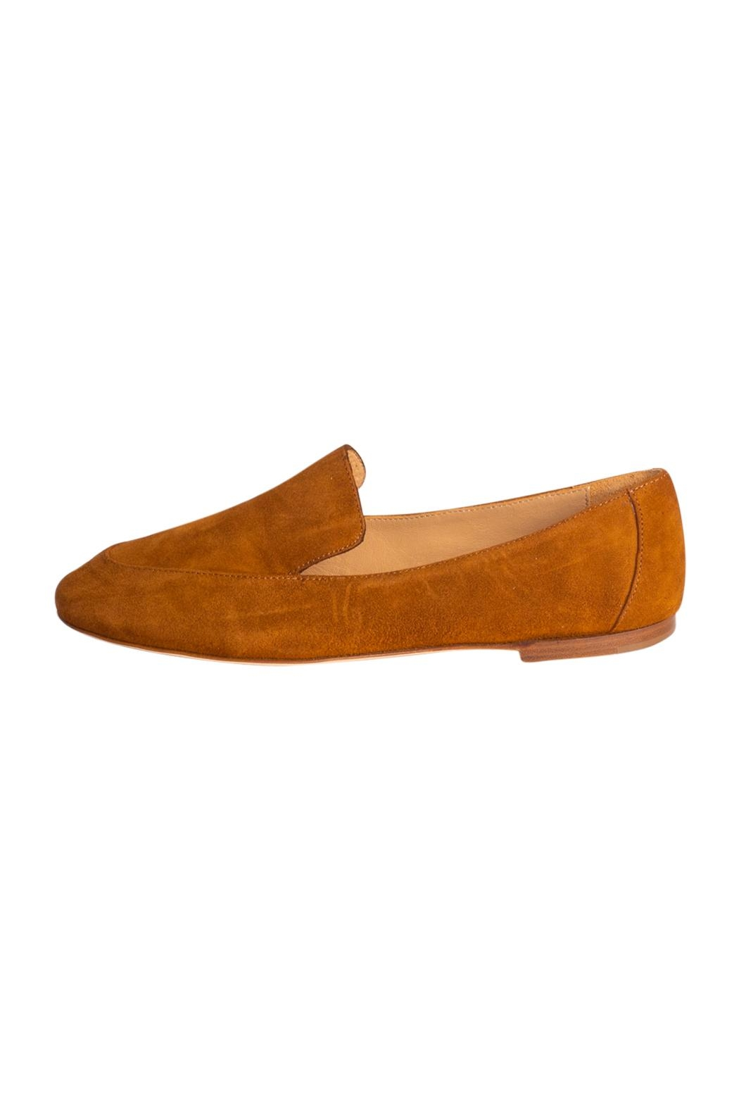 Pascucci Tan Suede Loafers - Main Image