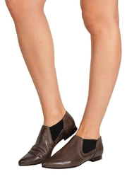 Pascucci Taupe Ankle Bootie - Back cropped