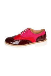 Pascucci Thick-Sole Leather Brogue - Front cropped