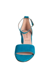 Pascucci Turquoise Heeled Sandal - Side cropped