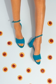 Pascucci Turquoise Heeled Sandal - Other