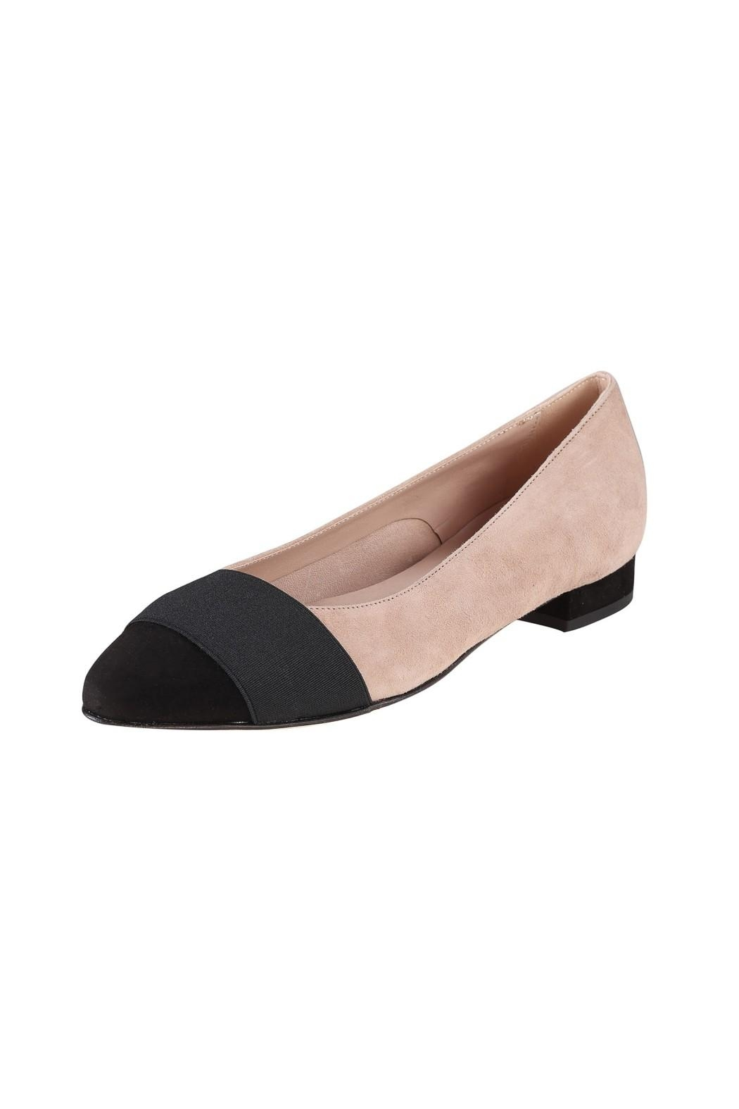 Pascucci Two-Tone Ballet Flats - Front Full Image