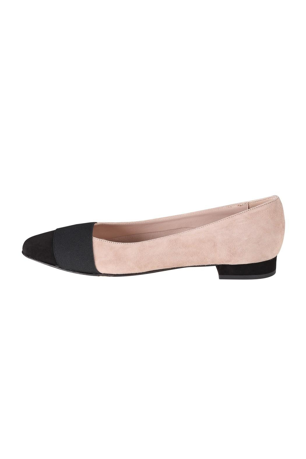Pascucci Two-Tone Ballet Flats - Main Image