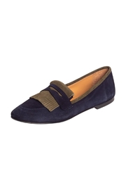 Pascucci Two-Tone Suede Loafer - Front full body
