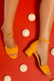Pascucci Yellow Heeled Sandal - Other