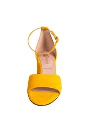 Pascucci Yellow Heeled Sandal - Side cropped