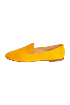 Shoptiques Product: Yellow Suede Loafers