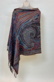 THE MAGIC SCARF CO. PASHMINA WITH BUTTOMS - Product Mini Image