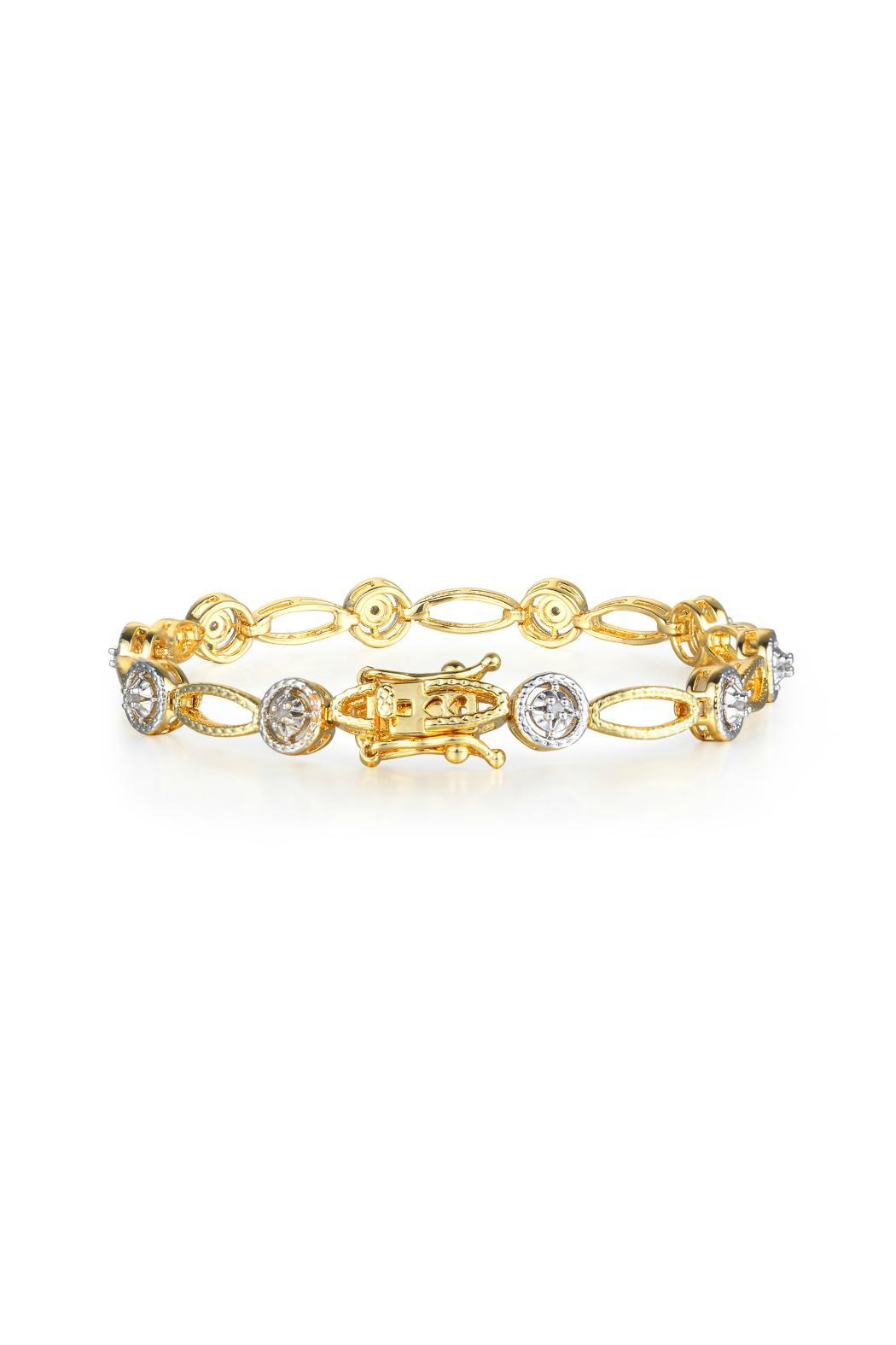 Ct Gold Diamond Bracelet