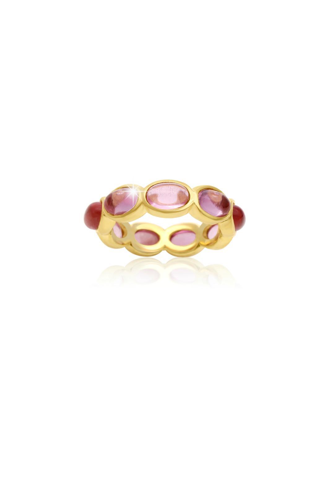 Passiana 10ct Quartz Ring - Main Image