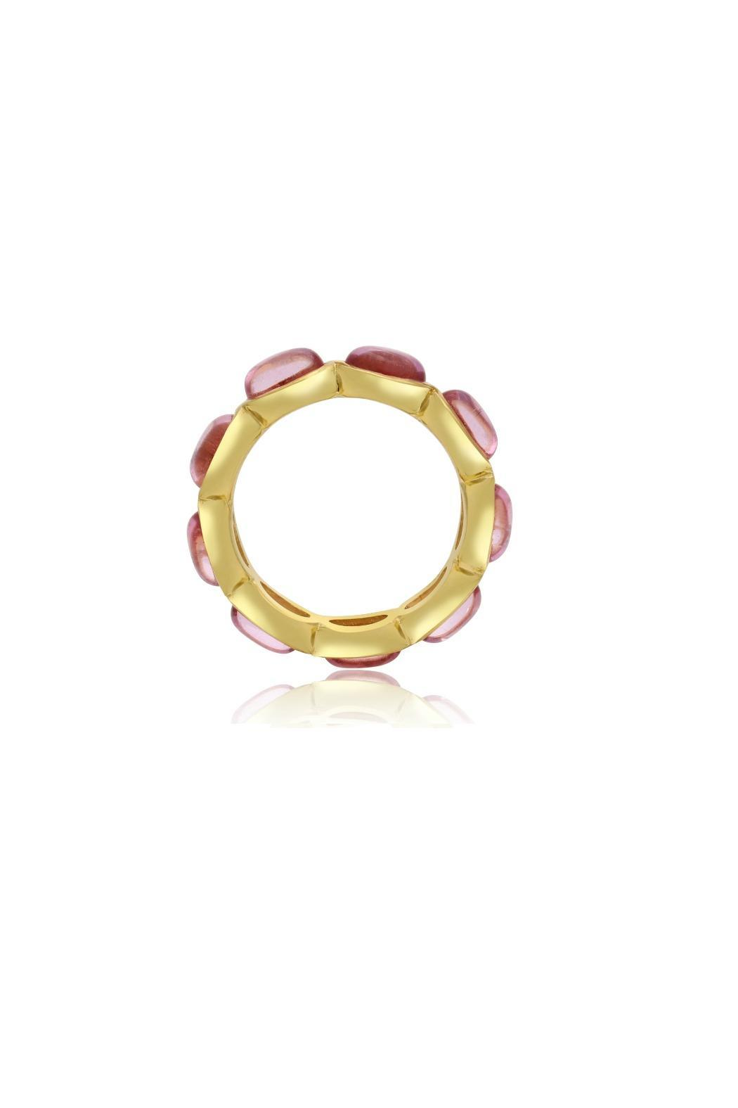Passiana 10ct Quartz Ring - Side Cropped Image