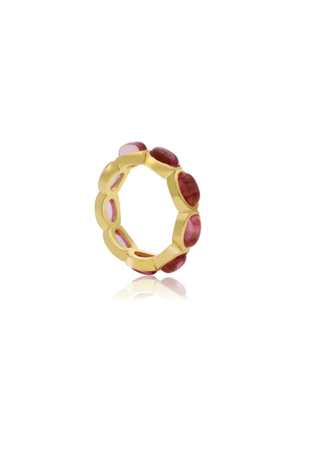 Passiana 10ct Quartz Ring - Front Full Image