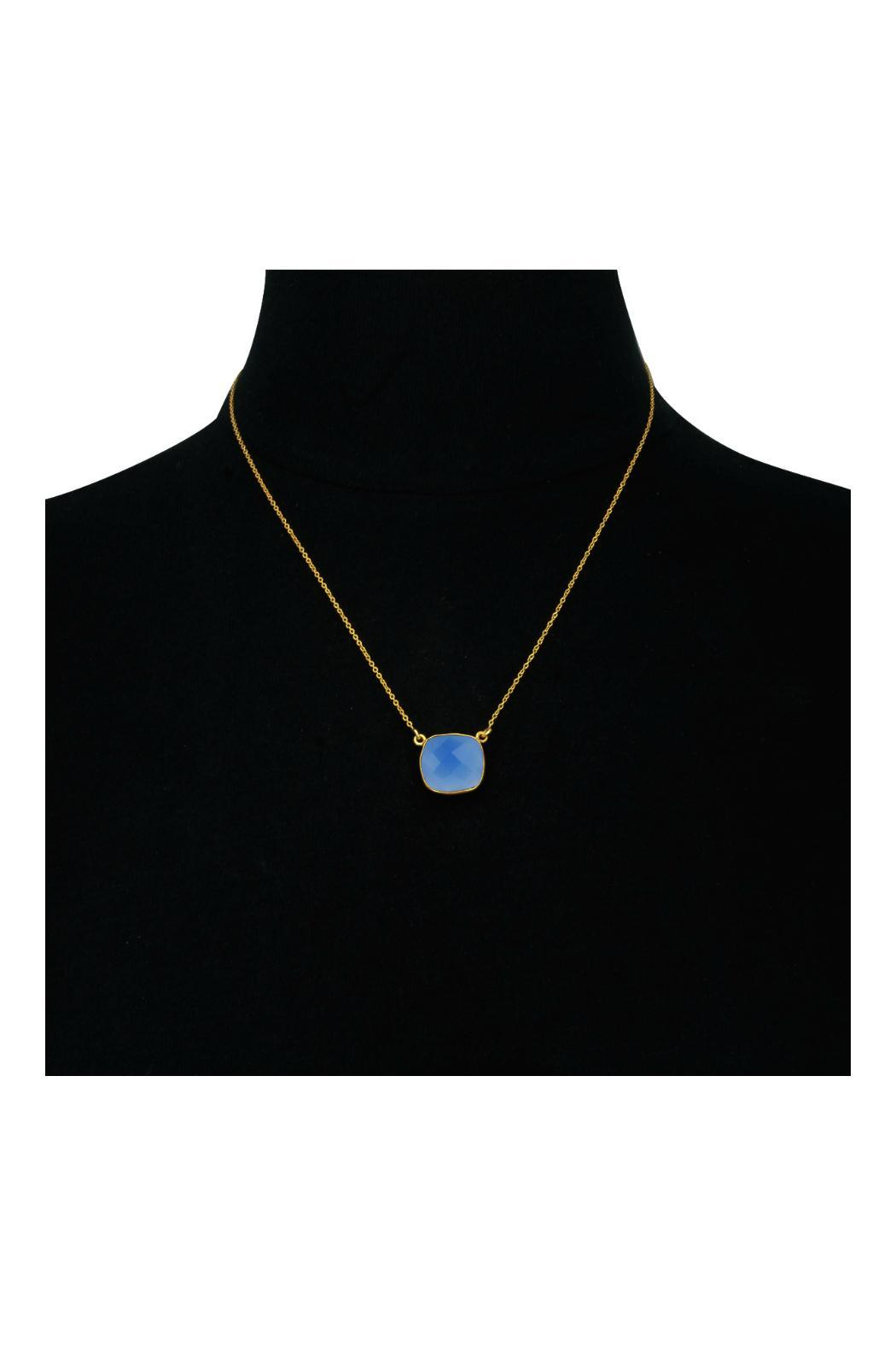 Passiana Blue Onyx Necklace - Side Cropped Image